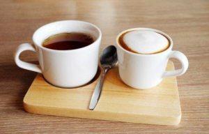 кофе и чай при молочнице